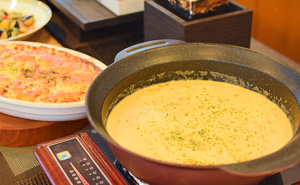 Photo:Soup and gratin