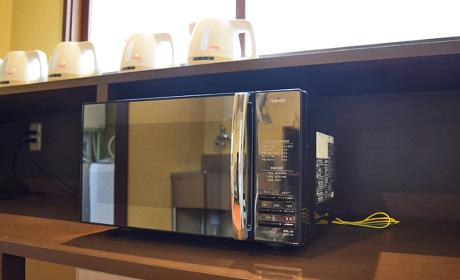 Photo:Microwave